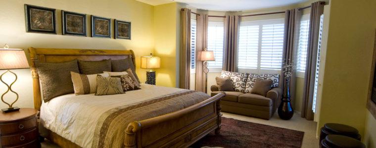 Як вибрати штори в спальню: фото ідей оформлення вікна